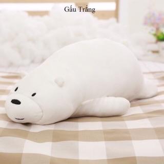 Gấu bông trắng