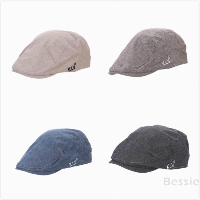 Bessie British wind cotton adult cap men and women three