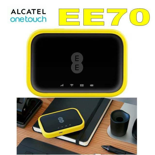 [Mã 267ELSALE hoàn 7% đơn 300K] Bộ Phát Wifi 4G Alcatel EE70 Tốc Độ 4G 300Mbps