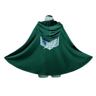 Attack On Titan Cosplay Shingeki No Kyojin Cloak Eren Levi Mikasa Scout Legion Japanese Anime Adult Green Black Costume