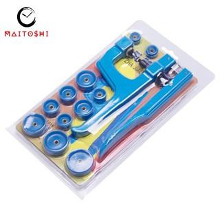 Dụng cụ hỗ trợ đóng chặt nắp sau của đồng hồ đeo tay tiện lợi kèm 11 đầu đóng