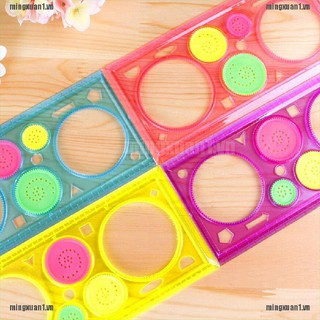 MINONE 1 Pcs Spirograph Geometric Ruler Drafting Tools Stationery Drawing Toys Set