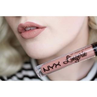 Son kem lì chính hãng NYX Lingerie Liquid Matte Lipstick nhiều màu thumbnail
