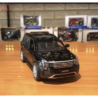 Mô hình xe ô tô Trumpchi GS8 tỉ lệ 1/32 màu đen
