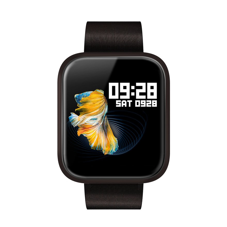 "8.22【COD】1.3"" Smart Bracelet P70 Real-Time Heart Rate Measurement Blood Pressure Oxygen"
