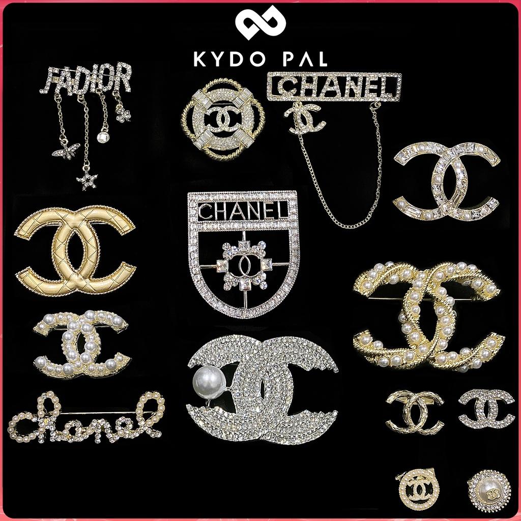 Cài áo nữ đính đá nam tag áo sang chảnh CB1 KYDO - Phụ kiện trang sức thời trang