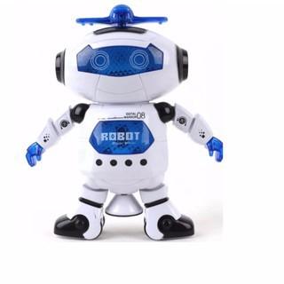 Đồ chơi Robot thông minh nhảy múa hát xoay 360 độ Clickbuy365