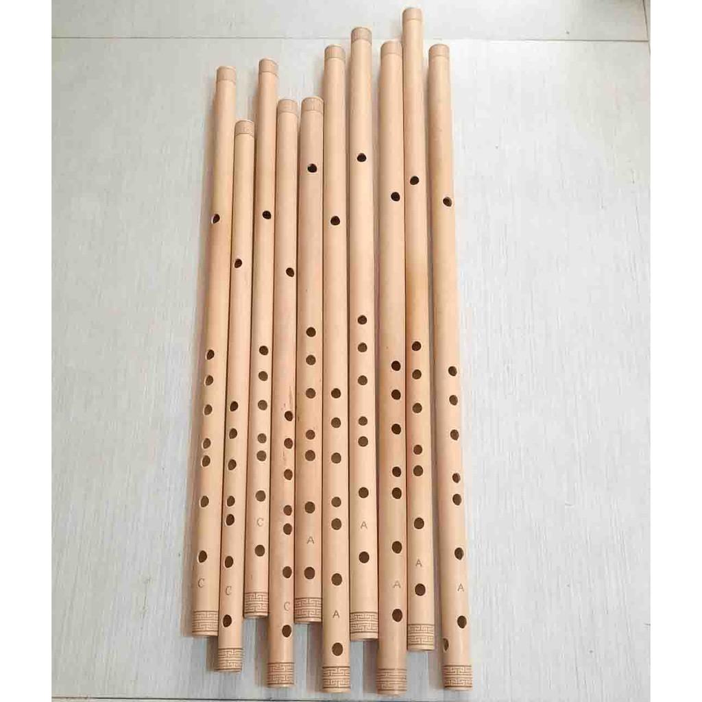 Sáo trúc tone đô (C5) và tông la (A4), sáo trúc giá rẻ tone đô và tone la, sáo C5, sáo A4