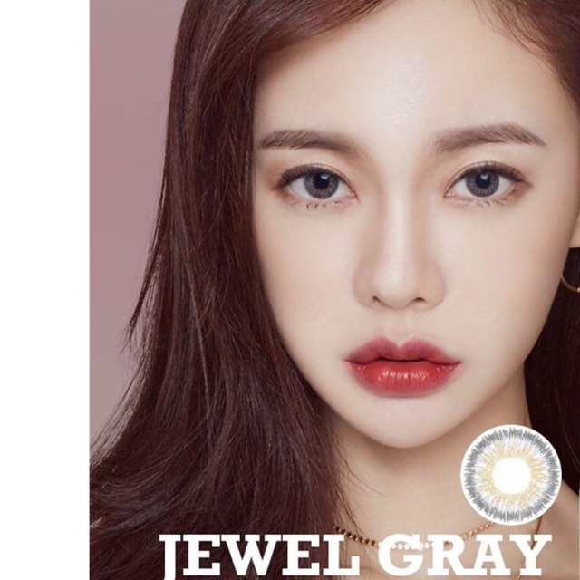 Lens jewel gray