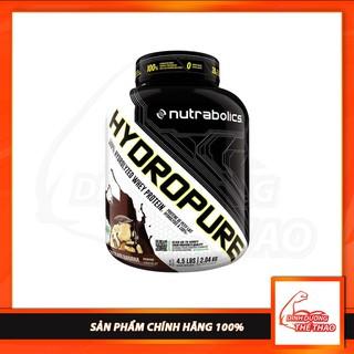 [Freeship + Quà] Whey Tăng Cơ Giảm Mỡ Nutrabolic – Hydropure 4.5 LBS – Chính Hãng 100%