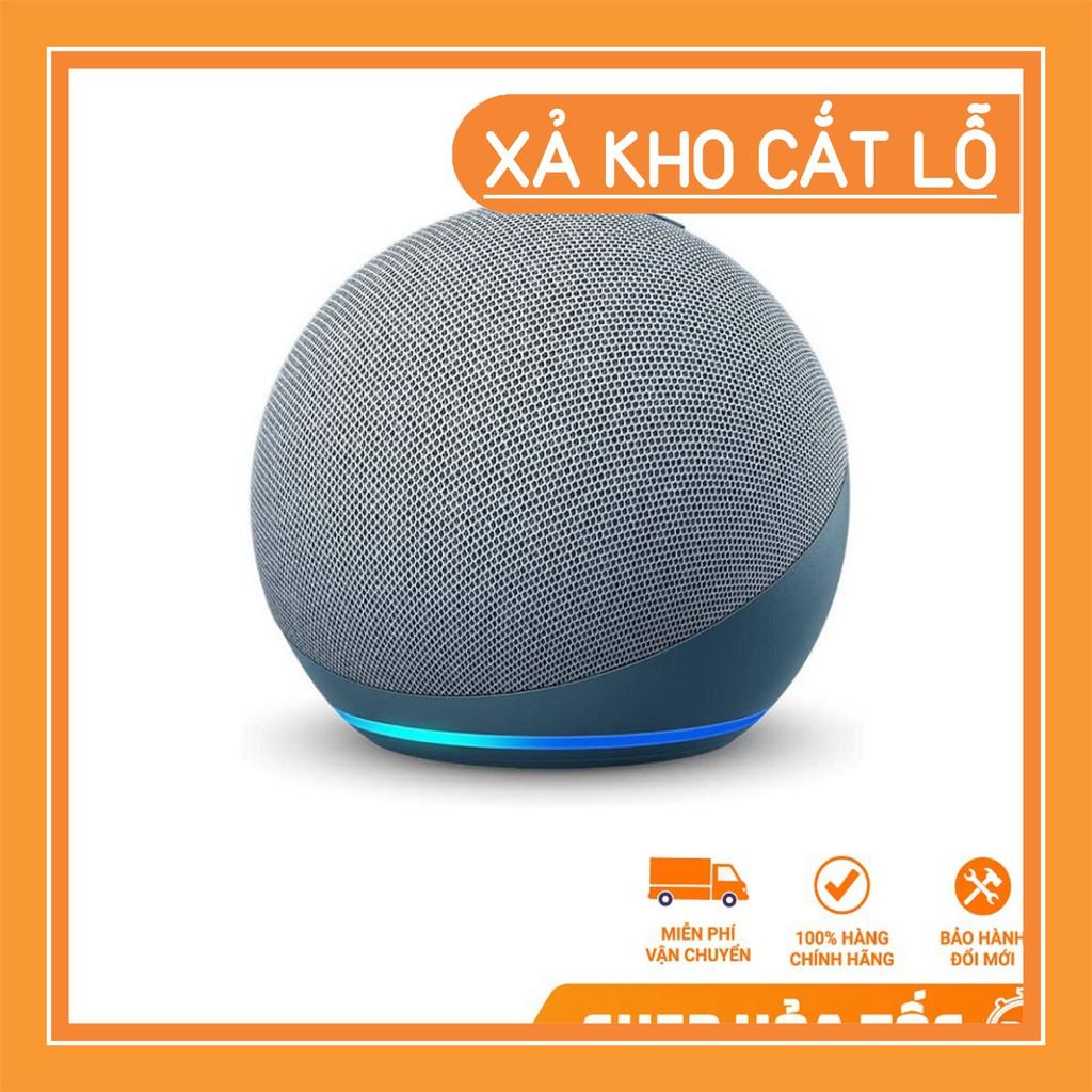 [Hàng Mỹ] [Amazon Echo (gen 4)] loa thông minh cao cấp mới nhất, tích hợp trung tâm điều khiển nhà thông minh