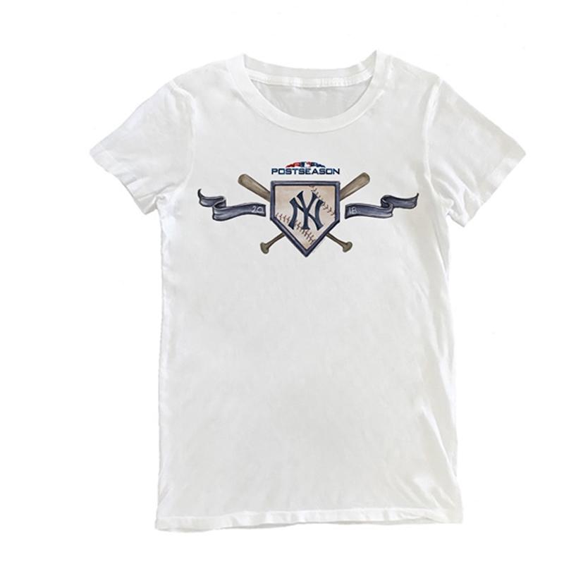 áo thun nữ cổ tròn in chữ new york yankees cá tính - 13978371 , 2552103581 , 322_2552103581 , 291800 , ao-thun-nu-co-tron-in-chu-new-york-yankees-ca-tinh-322_2552103581 , shopee.vn , áo thun nữ cổ tròn in chữ new york yankees cá tính
