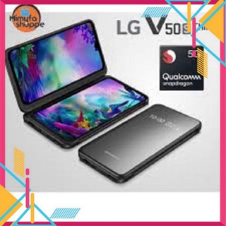điện thoại LG V50 S - LG V50S Chính Hãng (8GB 256GB), màn hình 6.4inch, CPU Snapdragon 855, chiến game nặng mướt thumbnail