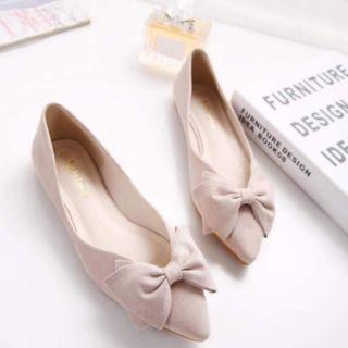 Giày bệt nơ hàng order Quảng Châu cao cấp