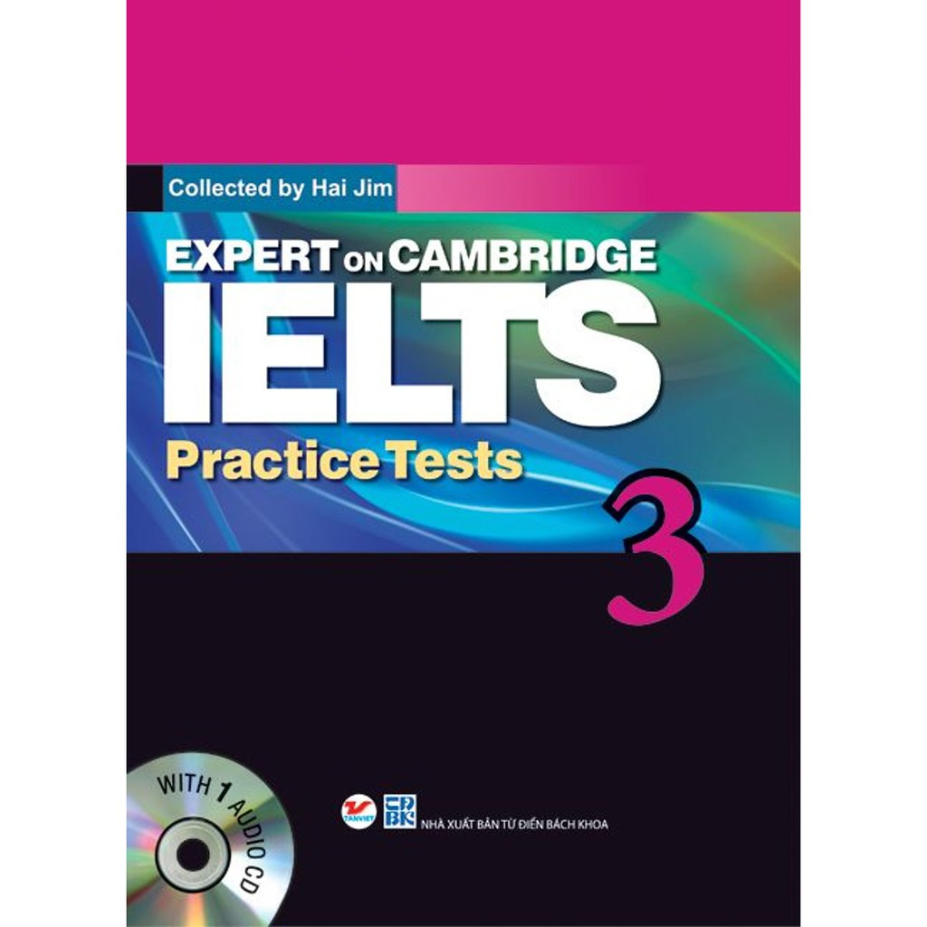 Sách - Expert On Cambridge IELTS Practice Tests 3 (Kèm CD)