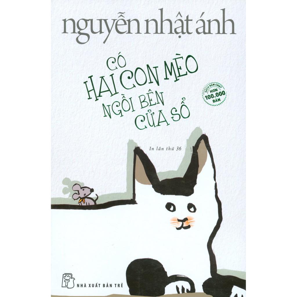 Sách - Có Hai Con Mèo Ngồi Bên Cửa Sổ | Shopee Việt Nam