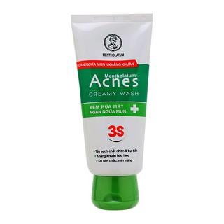 Sữa rửa mặt Acnes ngăn ngừa mụn Creamy 100g thumbnail