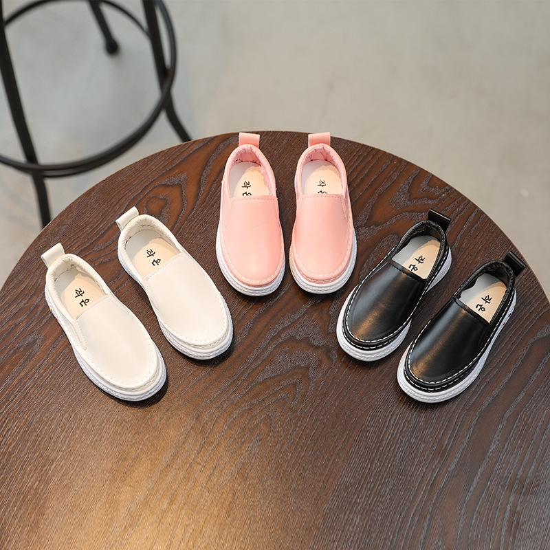 ฤดูใบไม้ร่วงอายุ 1-10 ปีหนึ่งเท้า 4 รองเท้าหนังเด็กผู้หญิง 5 ขี้เกียจ 6 เด็กเล็ก Peas รองเท้า 7 รองเท้าเด็ก 8 ปี 9
