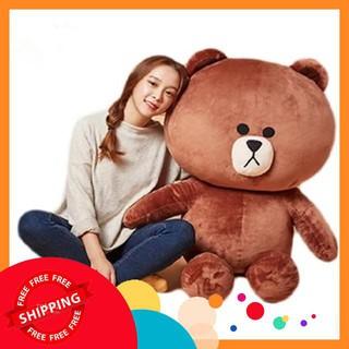 [Freeship_99k] Gấu brown khổ vải 1m5 , gấu bông giá rẻ
