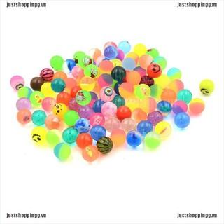 WY 10pcs 25mm Bouncy Ball High quality child elastic rubber ball Kid of pinball NN