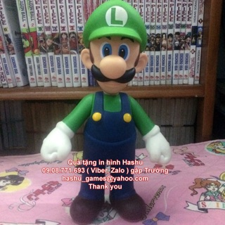 .Mô hình Luigi super size