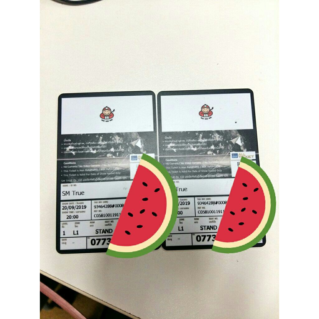 บัตรคอน EXO PLANET#5 วันศุกร์