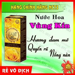 { BÁN GIÁ GỐC } Nước Hoa Vùng Kín SABI LOVE (15ml)( Hàng chính hãng công ty NCT3 ) .