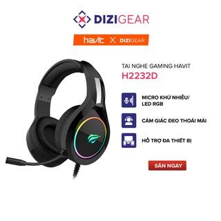 Tai Nghe Gaming Havit H2232D, Hỗ Trợ LED RGB, Tương Thích Với PC PS4 XBOX Điện Thoại Máy Tính Bảng - Hàng Chính Hãng thumbnail