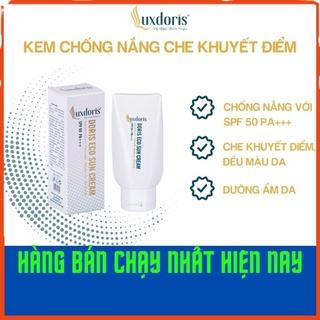 Kem chống nắng và che khuyết điểm LuxDoris SPF50 PA+++ bảo vệ khỏi tia UV dưỡng ẩm 50ml - Hàng chính hãng thumbnail