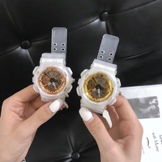 Đồng hồ thể thao unisex Sport watch dây cao su full chức năng chống thấm nước thumbnail