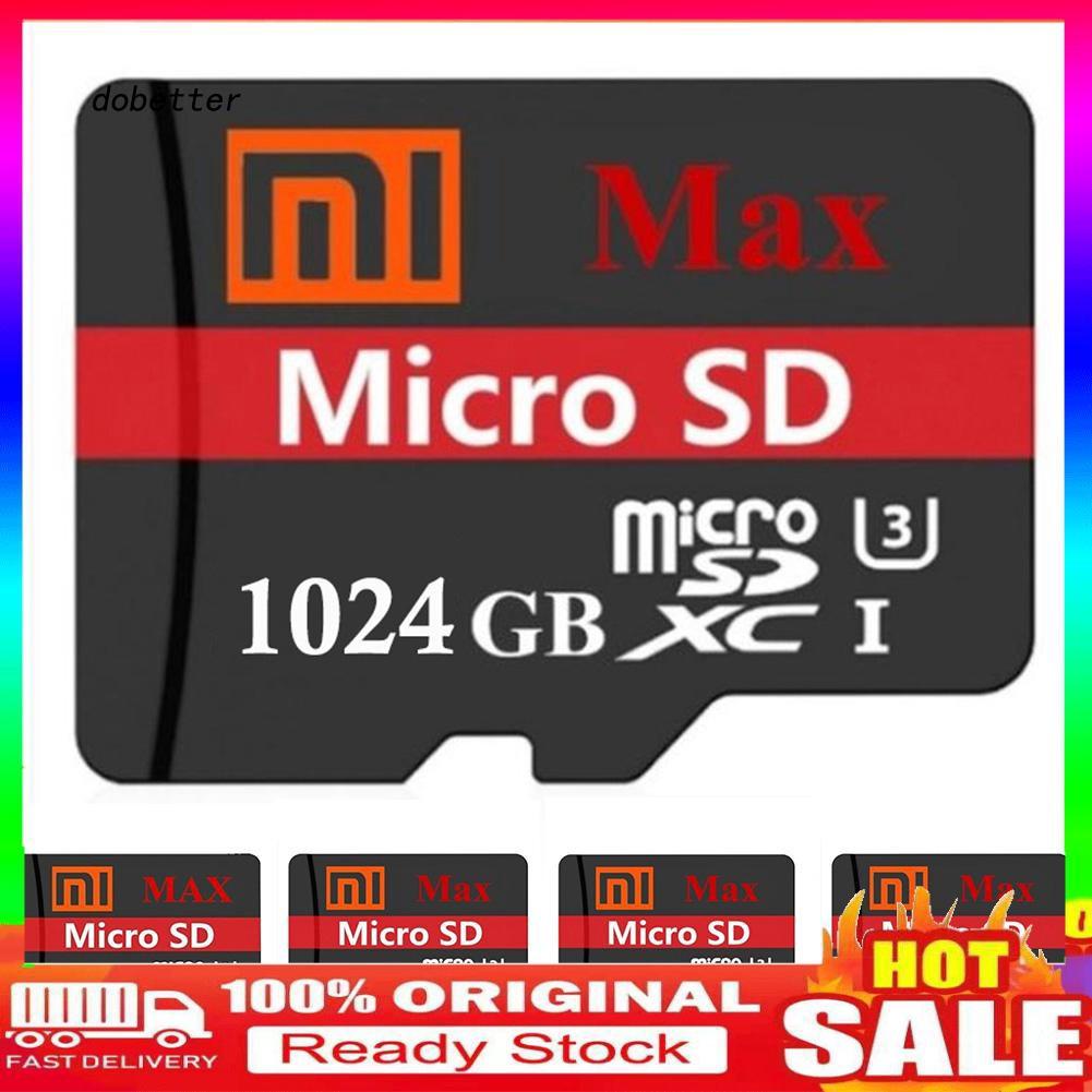 【dobetter.TF】64G/128G/256G/512G/1T Xiao-mi EVO Plus USB 3.0 High Speed Storage Memory Card