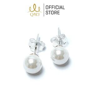 Bông tai bạc QMJ Ngọc trai nhân tạo - Q010 thumbnail