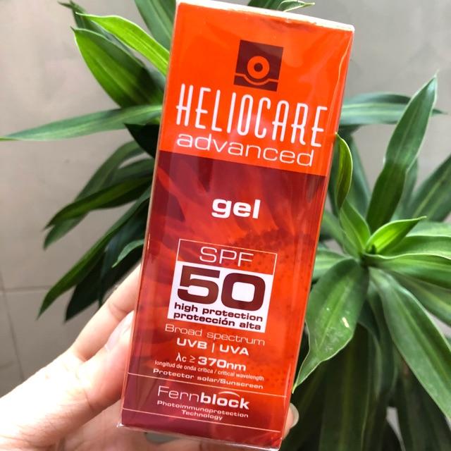 Kem chống nắng Heliocare Advanced Gel SPF 50 cho da nhờn, mụn