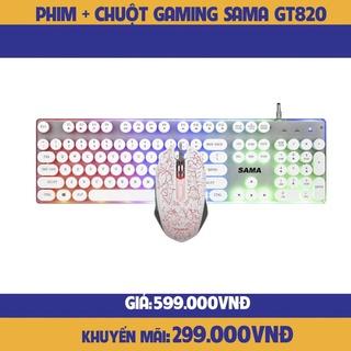 COMBO bàn phím chuột SAMA GT820 Gaming -hàng chính hãng thumbnail