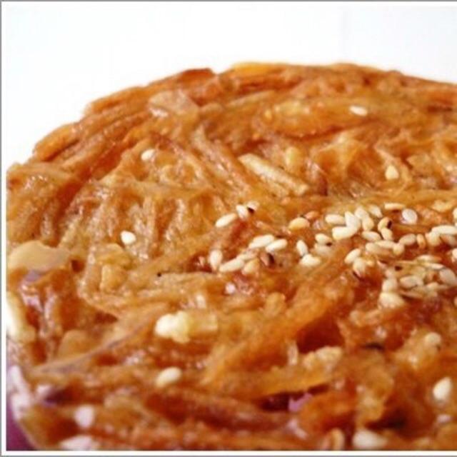 Đặc sản Phan thiết 3 gói Bánh rế Vàng Hoàng Lam chính hiệu giòn tan thơm ngon