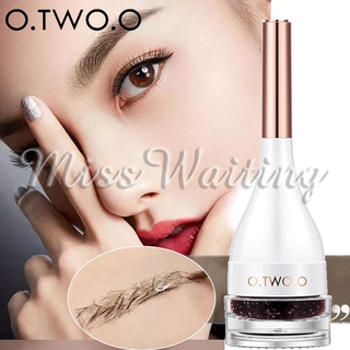 O.TWO.O Eyebrow Pencil Thrush Tool Eyebrow Cream Beauty Drawing 2 Colors Cosmetology Eye Make Up Fashion Woman