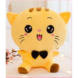 [GIÁ SỐC] Thú bông mèo mặt bự siêu kute SIZE LỚN 50CM chất liệu cotton nhồi bông cao cấp – siêu êm siêu mềm