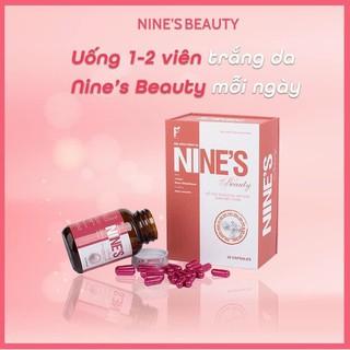 Viên uống trắng da Nines Beauty - Hộp Viên uống trắng da Nine s Beauty chính hãng tăng cường độ ẩm và đàn hồi cho da thumbnail
