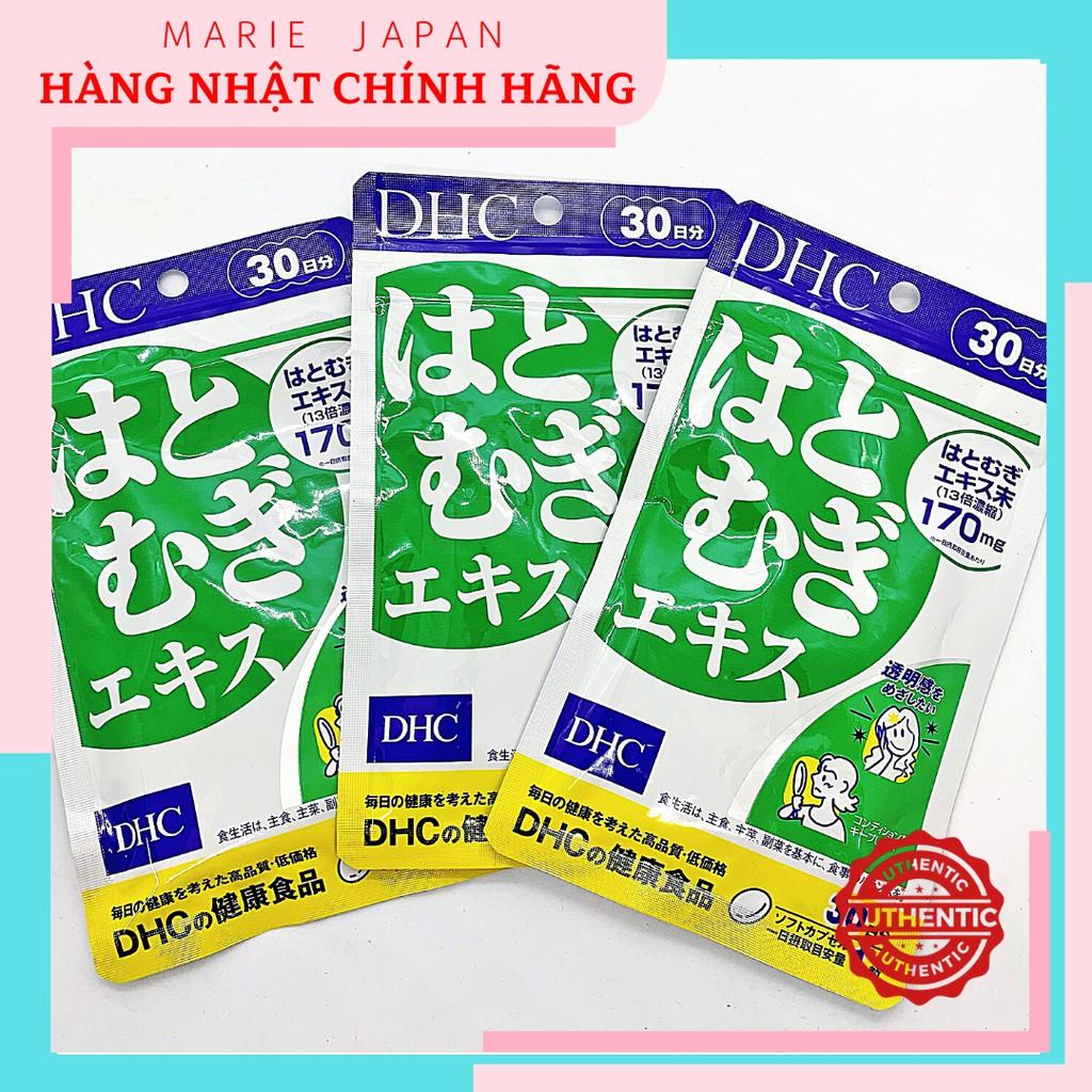 Viên Uống Trắng Da DHC Adlay Extract Nhật Bản Gói 30 Ngày