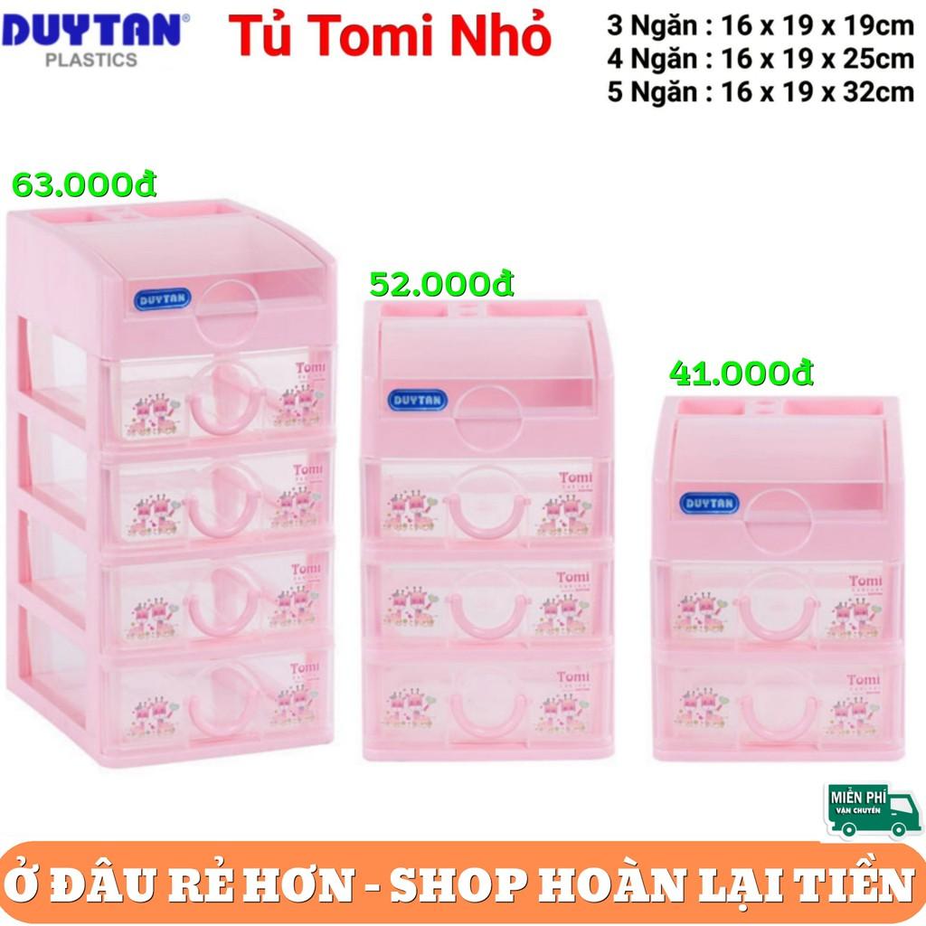 Tủ nhựa Tomi Mini Duy Tân 3 - 4 - 5 ngăn