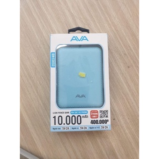 Sạc dự phòng Ava 10.000mAh tặng kèm DÂY SẠC (100% CHÍNH HÃNG) thumbnail