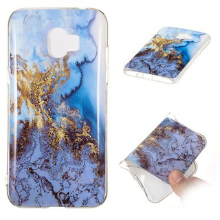 Samsung Galaxy J2 Pro 2018 Marble Granite Veins Casing Soft Cover TPU Case