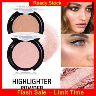 Ready Cổ SACE LADY Highlighter Palette 6 màu sắc tự nhiên cho da mặt Mỹ phẩm trang điểm