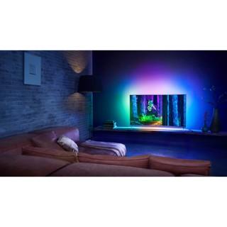 Đèn led trang trí cảm biến ánh sáng và màu sắc theo nội dung trình chiếu trên màn hình cho android kết nối không dây