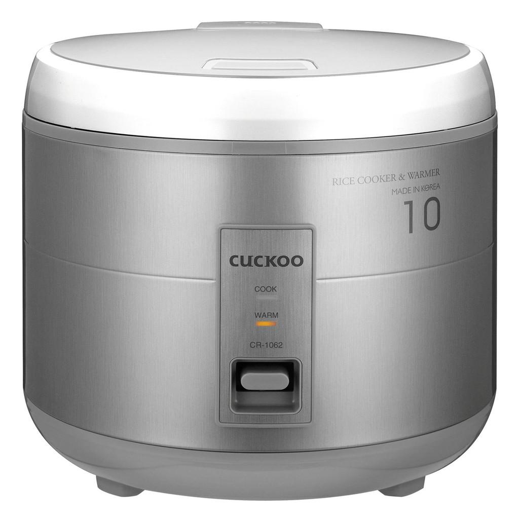 Nồi cơm điện cơ 1.8L Cuckoo CR1062G (Xám)