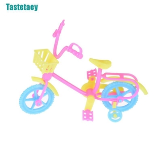 【Tastetaey】Cute Bicycles Bikes Mini Toy for Barbie Accessories Girls Birthday Gifts