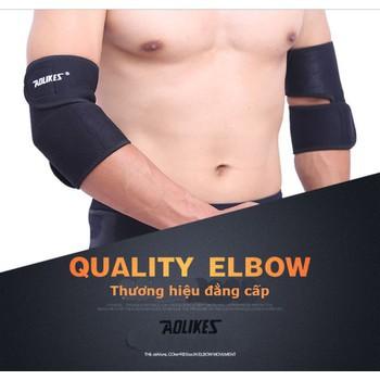Đai băng bảo vệ khuỷu tay thể dục thế thao Aolikes A7646 ( 1 đôi )