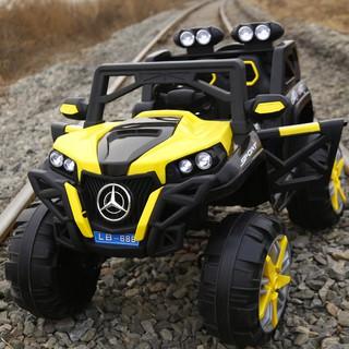 Xe ô tô điện trẻ em DLX – 6688 (4 động cơ lớn) – Bé tự lái hoặc điều khiển từ xa