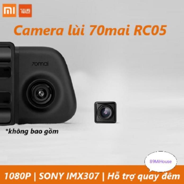 Camera lùi ô tô Xiaomi 70mai Midrive RC05 - Camera phụ ô tô Xiaomi 70mai - RC05