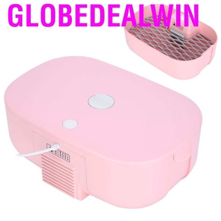 Globedealwin Mini Portable Waterproof Clothes Underwear Dryer Box for Home Travel Pink Chinese Plug 220V
